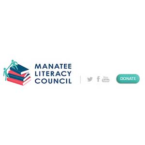 Manatee literacy council logo